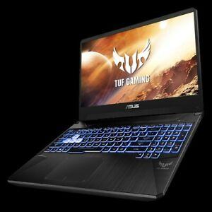 "Asus TUF Gaming FX505DV AMD Ryzen7 3750H 16GB RAM 512GB SSD 15.6"" 120Hz RTX2060"