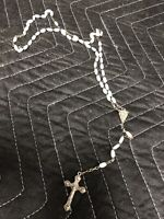 Vintage Rosary Beads Made In Italy Marked Roma