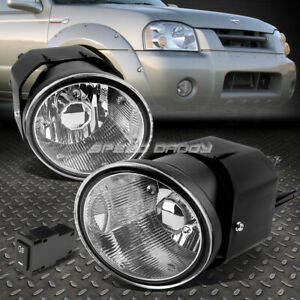 FOR 01-04 FRONTIER/SENTRA CLEAR LENS OE DRIVING PAIR FOG LIGHT LAMP+SWITCH