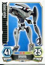 Star Wars Force Attax Series 3 Card #123 Aqua Droid