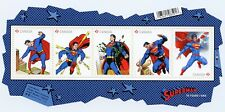 "Weeda Canada 2677 VF NH ""Superman"" comic book 2013 issue S/S of 5 CV $8.75"