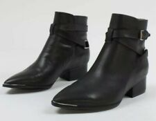 NEW Jeffrey Campbell Continental Ankle Boot Size 7 Black Leather