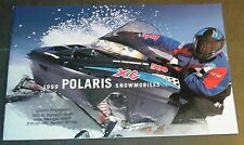"1999 POLARIS SNOWMOBILE BROCHURE 30 PAGES NICE  10"" x 6 1/2""    (247)"