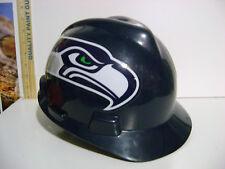 OFFICIAL NFL SEATTLE SEAHAWK CONSTRUCTION HARD HAT HELMET MSA (SIZE MEDIUM)
