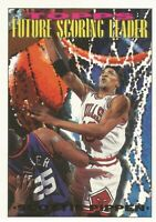 Scottie Pippen Future Scoring Leader Topps GOLD 1993/94 - Basketball Card #391