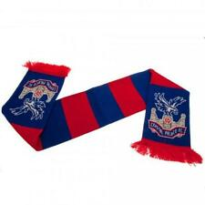 Crystal Palace Football Club Official Knitted Bar Scarf Crest Badge Team