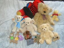 Konvolut Teddybären, 12 Teddys,  Kuscheltiere, Paket Plüschtieren