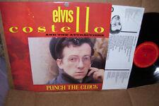 Elvis Costello Punch The Clock LP NM Vinyl