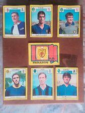 7 figurine album reli calciatori 1969 no panini