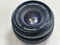 Olympus G.Zuiko 28mm f3.5 lens Wide Angle OM System with Fungus