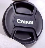 Canon 55mm front lens cap Snap on for 11–22mm f4-5.6 EF-M 18-150mm f3.5-6.3 M