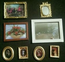 Lundby Large Good Collection Of Pictures And Mirrors Good Condition For Them All