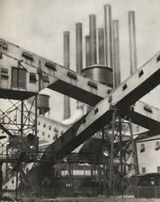 1920s Original CHARLES SHEELER Industrial Ford Motor Plant Vintage Photo Gravure