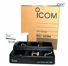 NEW ICOM BC-121N/BC-121 Multi-Charger for ICOM LMR or some Amateur Transceiver