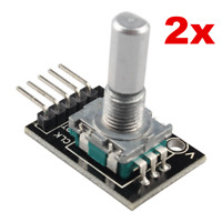 2pcs KY-040 Rotary Encoder Brick Sensor Module for Arduino AVR PIC NEW