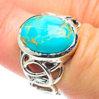 Arizona Turquoise 925 Sterling Silver Ring Size 6 Ana Co Jewelry R52044F