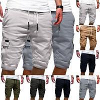 Herren Cargo Shorts Kurze Hosen Bermuda Sports Kurz Freizeithose Kurzhose .