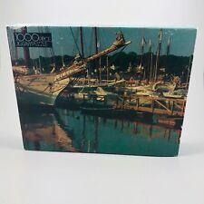 Vintage 1984 Maine Harbor 1000 Piece Jigsaw Puzzle Golden 4777 47 New Sealed