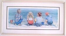"LUCELLE RAAD ""Water's Edge"" Signed Framed Limited Edition Print 318/900"