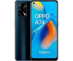 OPPO A74 4G 128GB+6GB RAM 6,43'' 48/16MP SMARTPHONE TELÉFONO MÓVIL LIBRE NEGRO4G