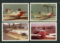 4 Vintage 1971 Photos Sportavia Fournier RF-3 Glider Airplane 407115
