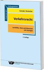 Prüfungswissen Verkehrsrecht von Bernd Brutscher und Karl-Peter Conrads (2016, Taschenbuch)