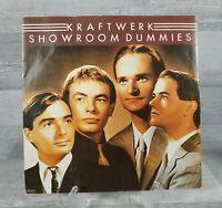 """Kraftwerk - Showroom Dummies / Numbers Vinyl 7"""" Single 1982 EMI 5272."""