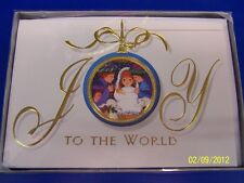 Joy to the World Winter Christmas Holiday Party Gift Boxed Greeting Cards
