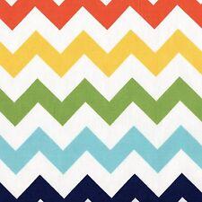 LAST ONE Riley Blake CHEVRON Rainbow Fabric FAT QUARTER Funky FQ Quilt Geometric