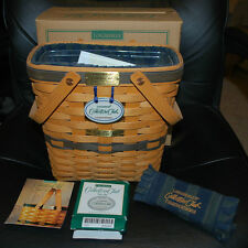 Longaberger Collectors Club Membership Basket Combo Tie-On Handle Grip Box Tags