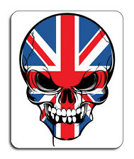 Best of British, Skull Mouse Mat - Union Jack Flag