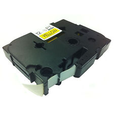 Brother Compatible TZ631 For P-Touch PT1950VP PT210e 12mm Black on Yellow Tape