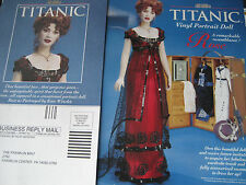 Franklin Mint TITANIC Rose Portrait Doll  Ad w/Wardrobe Advertisement ONLY