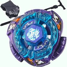 Omega Dragonis Metal Fury 4D Beyblade STARTER SET w/ Launcher & Ripcord!