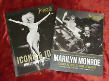 More details for set julien's icons & idols auction catalogues books x2 marilyn monroe 2018