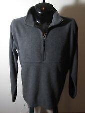 Men's COLUMBIA Sportswear Gray 1/2 Zip Fleece Sweatshirt Size L