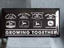 John Deere Growing Blechschild 25 X 50cm