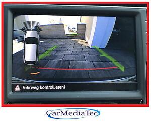 Original Seat Leon Rückfahrkamera Navigation Media System Plus Nachrüstset RFK