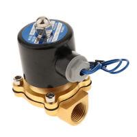 Elettrovalvola a solenoide elettrica da 12 V CC da 1/2 pollice per acqua