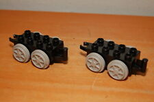Lot of 2 Lego Duplo Train Base Small 2x4 Top