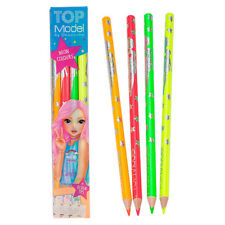 Depesche TOPModel Neon Coloured Pencil Set + Design Tips 6399_A NEW