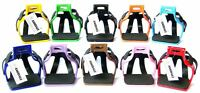 AMIDALE ALUMINIUM ENDURANCE FLEX RIDE CAGED SAFETY STIRRUPS 10 COLORS 2 SIZES
