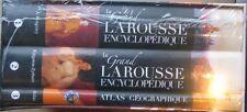Le Grand Larousse Encylclopédique et son atlas géographique
