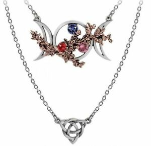 Alchemy England - Wiccan Goddess Of Love Necklace, Gothic Pagan Celtic Knot Gift