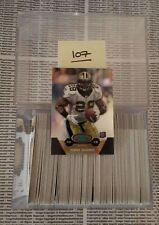 MARK INGRAM ROOKIE CARD LOT OF 107 x 2011 eTopps #4 New Orleans Saints Alabama