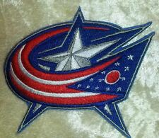 "Columbus Blue Jackets NHL Logo 3.5"" Iron On Embroidered Patch ~USA Seller~"