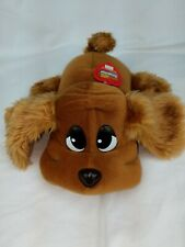 2000 Pound Puppies Plush Jakks Electronic Dog w/ Red Collar Wags Tail /Barks Toy