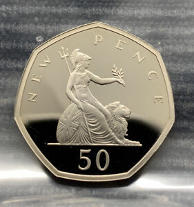 2019 Britannia PROOF 50p coin Royal Mint 50 pence 5th Portrait