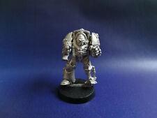 Vintage Rogue Trader Imperial inquisidor Terminator De Metal Gris Caballero Ciudadela