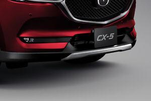Genuine OEM Front Under Garnish Skirt Spoilers Lip Kit New Mazda CX-5 2019 cx5